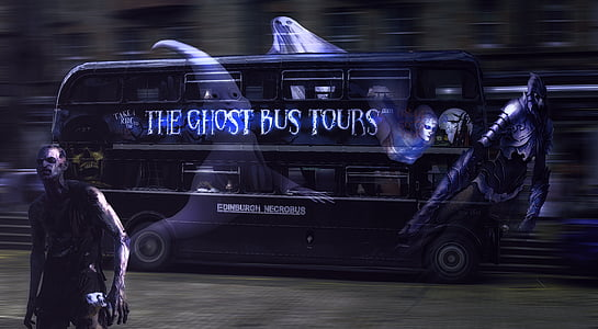 The Ghost Bus Tours illustration