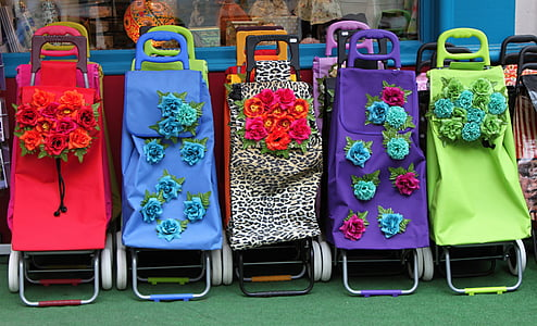 multicolored loungers