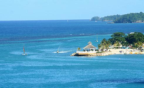 beach resort during daytime
