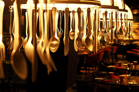 silver spoon and fork lot