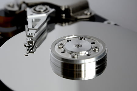 closeup photo of gray equipment