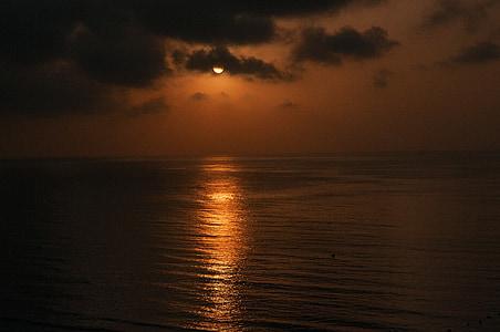 orange sunset photography