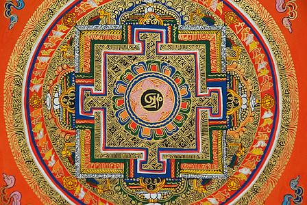 multicolored symbol