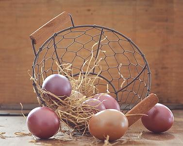 black metal basket near fruits