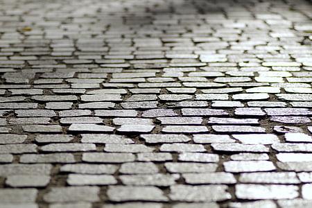 photo of gray ceramic tiles