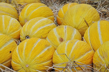 yellow and white fruits
