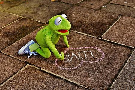 Kermit frog plush toy