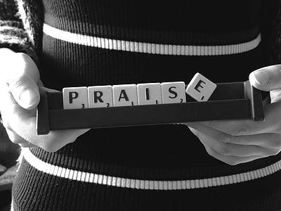 praise scrabble word