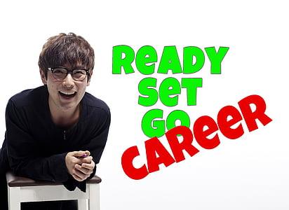 ready set go career text