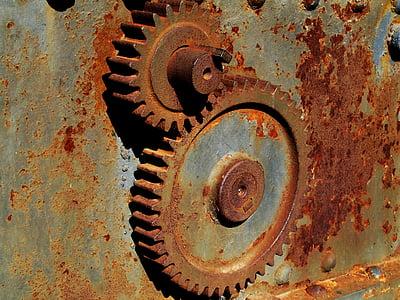 brown engine engine gear