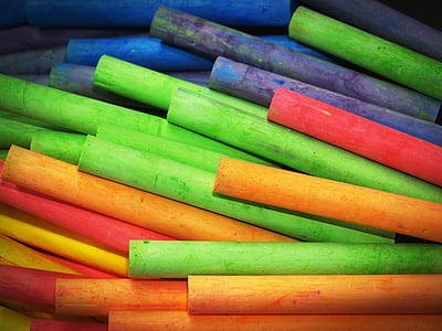 assorted-color stick lot