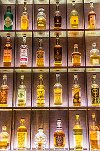 liquor bottle display rack