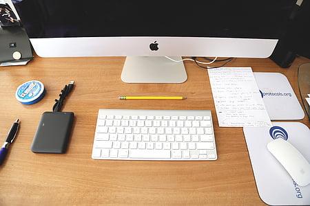iMac desktop set