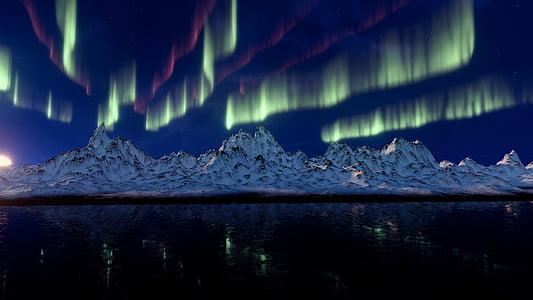 aurora borealis photo during daytime