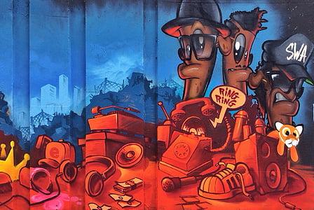 SWAT cartoon wallpaper