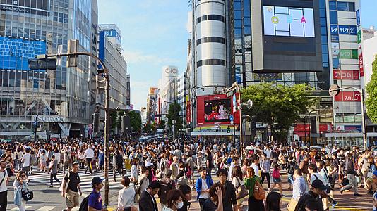 Tokyo square photograph