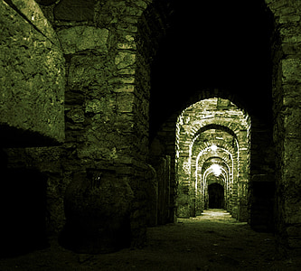 crypt, grabstette, monastery, cathedral, grave, cemetery