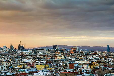 landscape photo of city