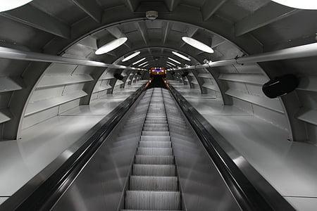 stainless steel escalator