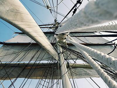 photo of white rope