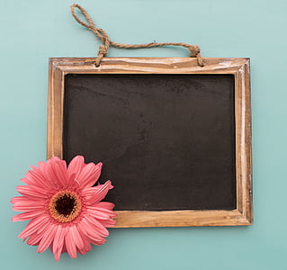 brown and black chalkboard