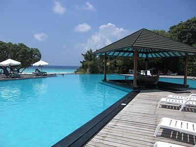 black and gray resort