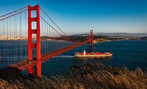 Golden Gate Bridge, San Francisco during daytime