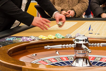 person playing roulette
