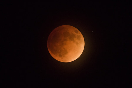 full moon on dark background