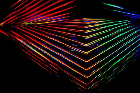 multicolored geometric wallpaper