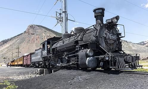 close-up photo of black train