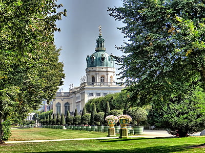 photo of green and white dome building
