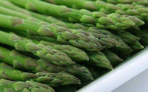 appetite, asparagus, calories, catering, closeup, colorful