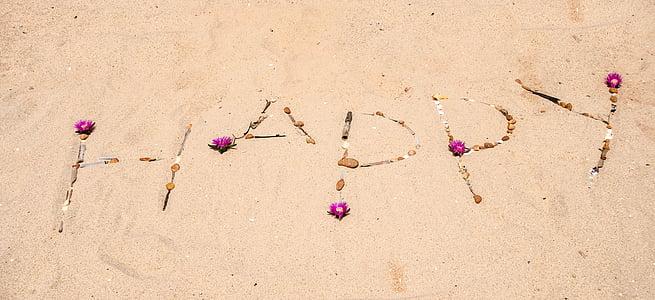 Happy sand design