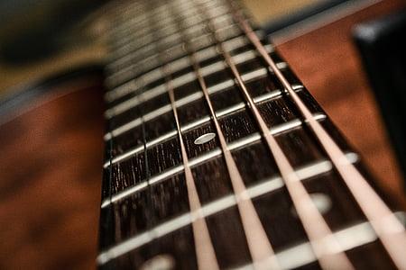 brown guitar string