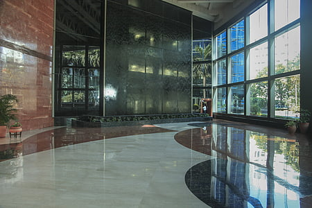 photo of building interior during daytime