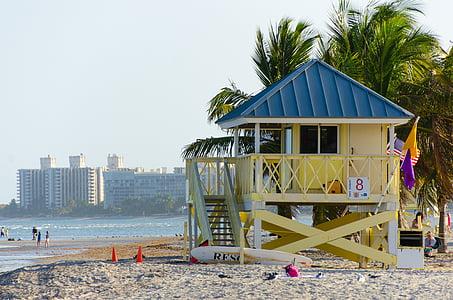 watch tower on seashore