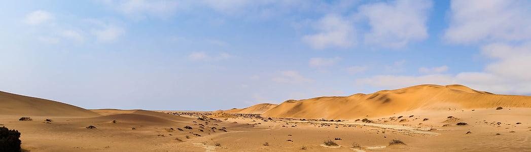 panorama photo of mountain