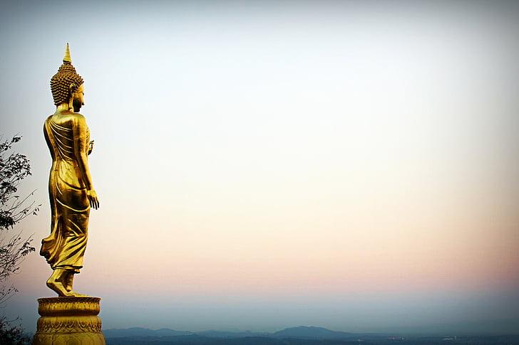 Royalty-Free photo: Gautama Buddha statue | PickPik