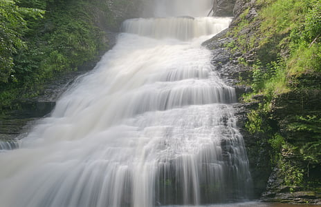 multi-layer water falls