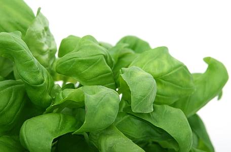 green leaved veggies