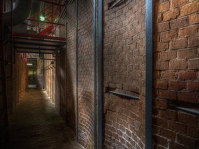 louise briquette factory, factory, old factory, brandenburg, leave, ruin