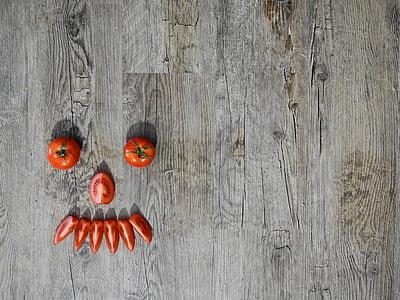 orange designed tomatoes