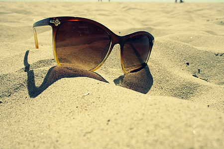 brown tinted sunglasses