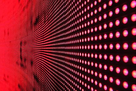 red digital LED