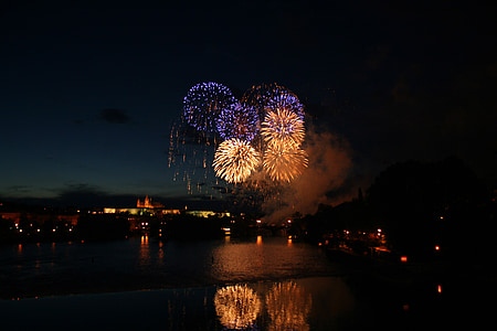 photography of fireworks