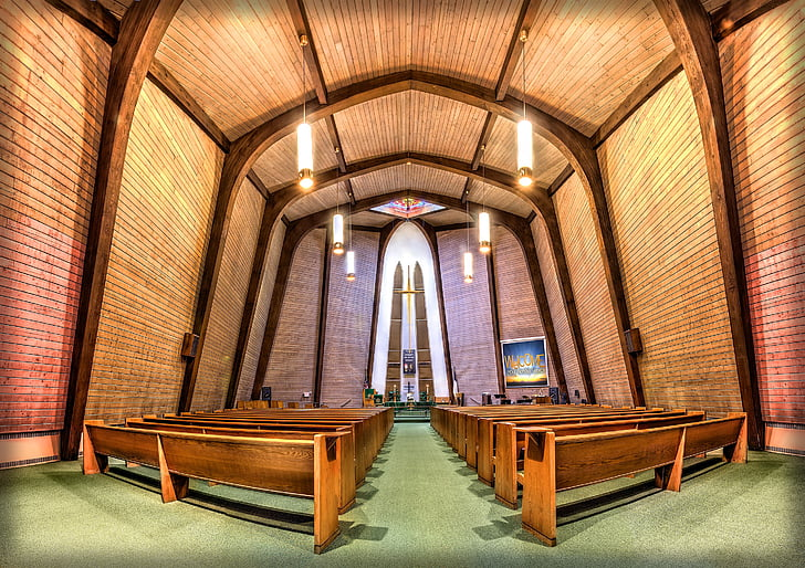 photography of church