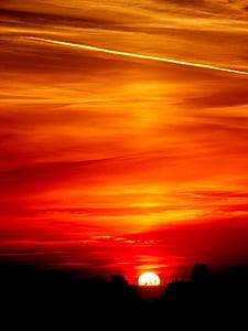 landscape photo of the golden hour