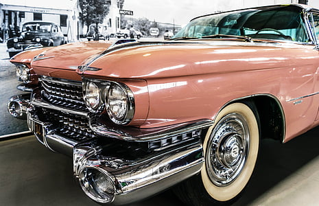 photography of brown Cadillac El Dorado
