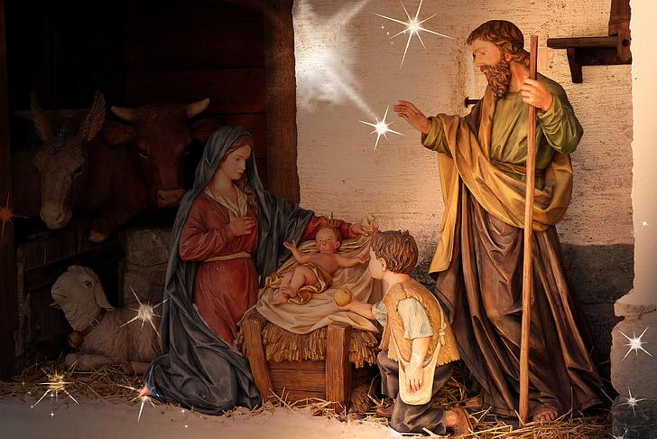 The Nativity illustration